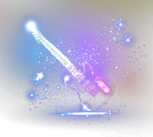 Guitare lumière